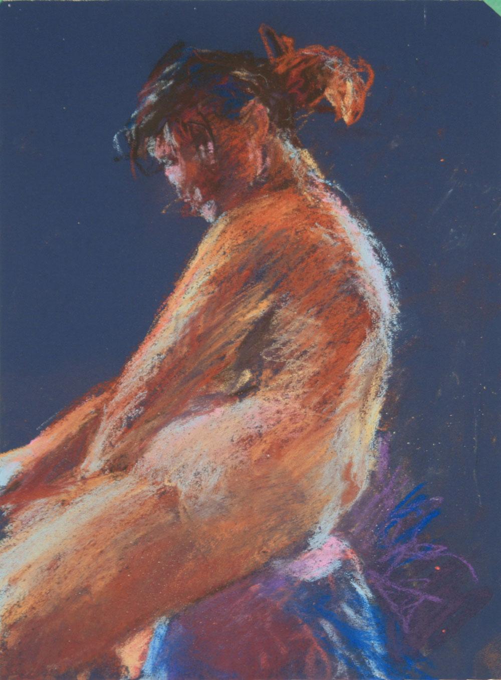 Pastel Figure, 11-10