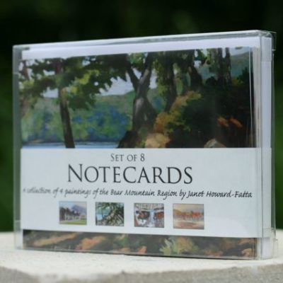 Set of 8 Notecards of the Bear Mountain Region