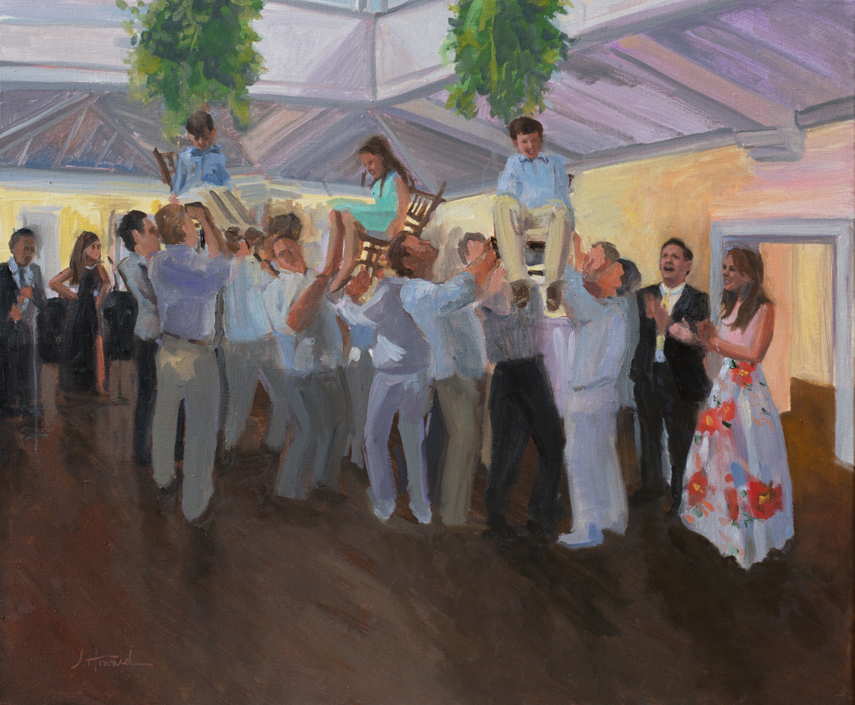 Anniversary Party Painting