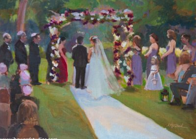 Ceremony Painting in West Orange, NJ