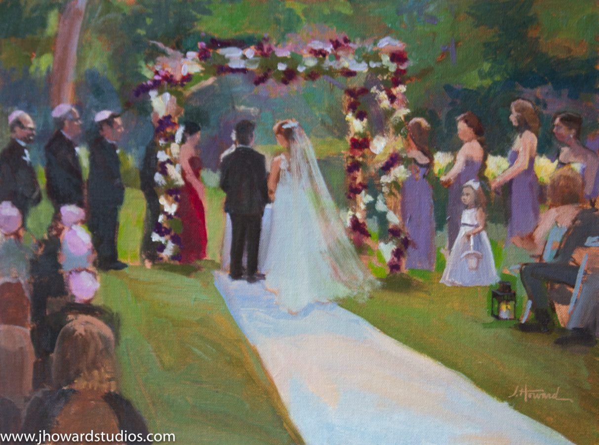 Ceremony Painting in West Orange, NJ