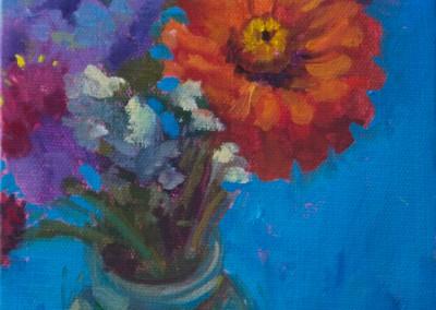 Blue Button Bouquet