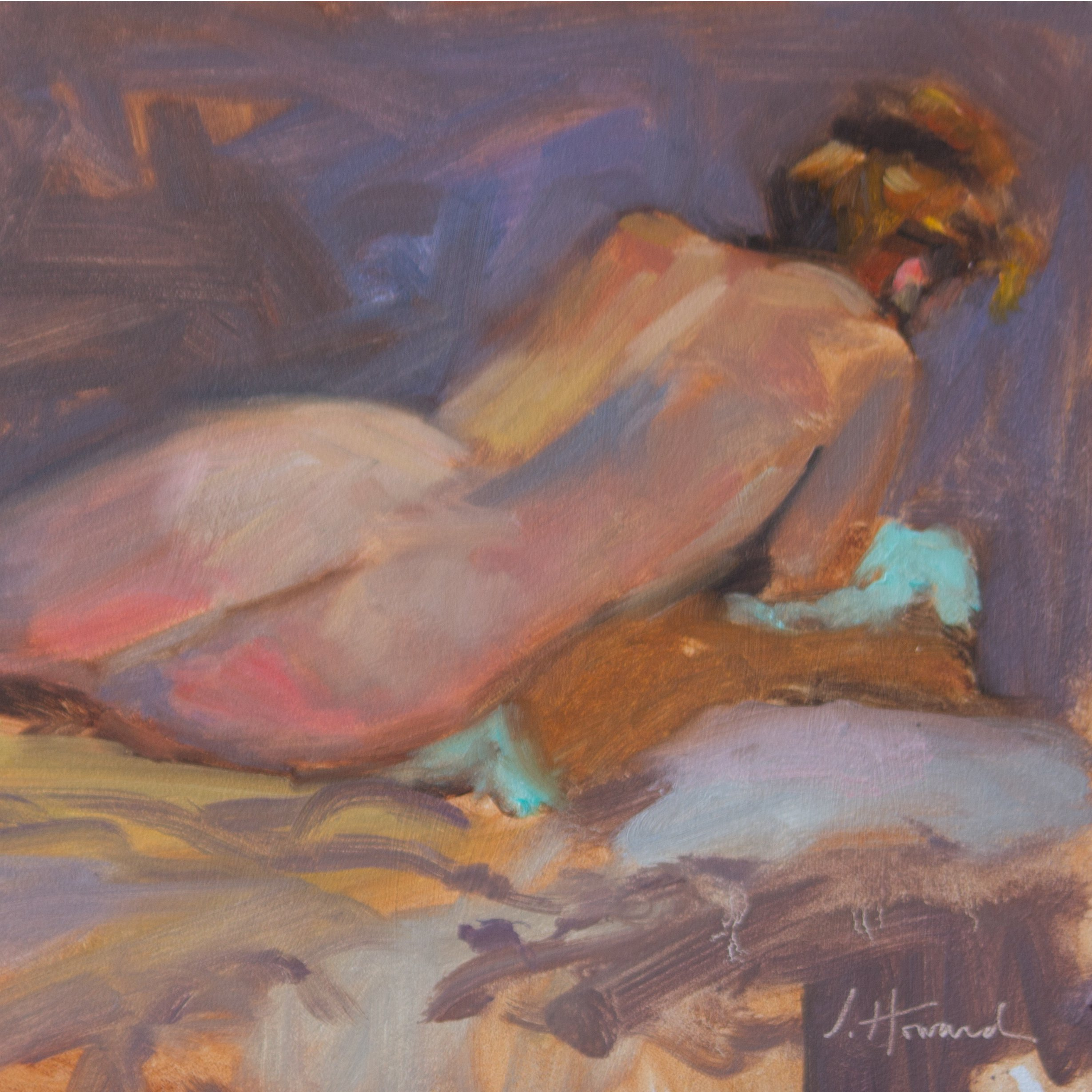 Figurative Studies in Oil and Pastel