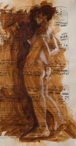music sheet nudes