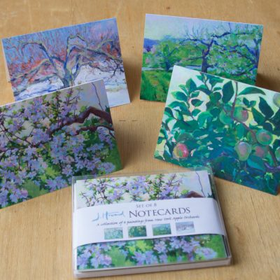 Apple Orchard Notecard Set