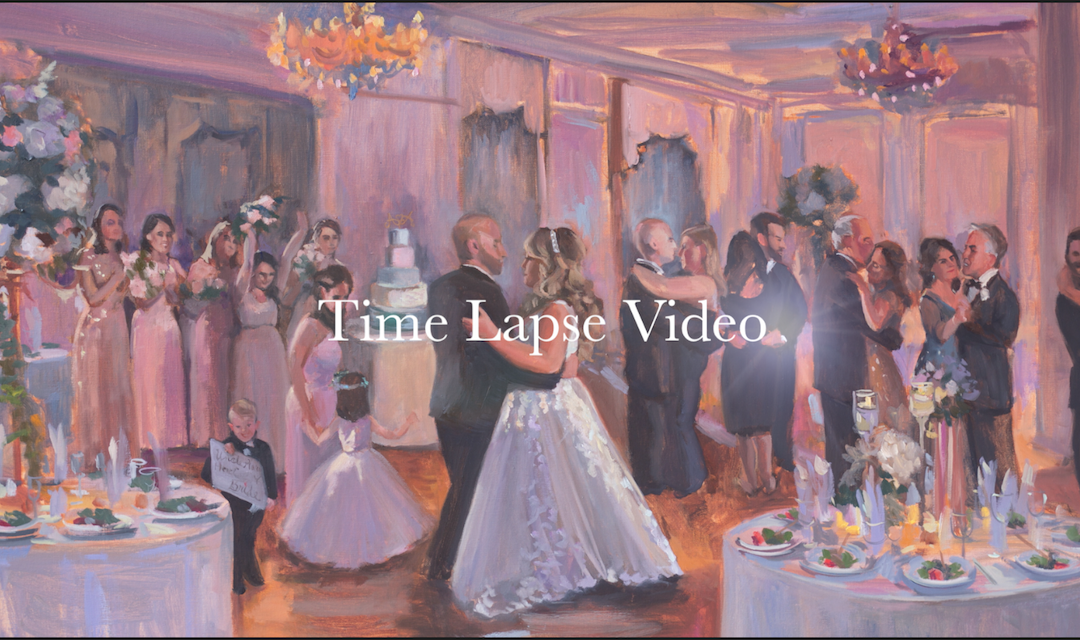 Live Event Painting, TimeLapse Janet Howard-Fatta