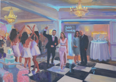Sweet 16 Celebration Painting