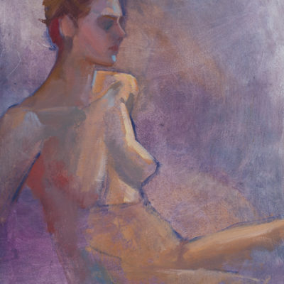 Untitled 14, female nude study