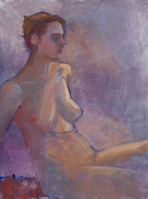 Untitled 14, female nude study